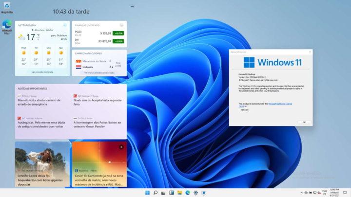Système de liste des fonctionnalités de Windows 11 Microsoft