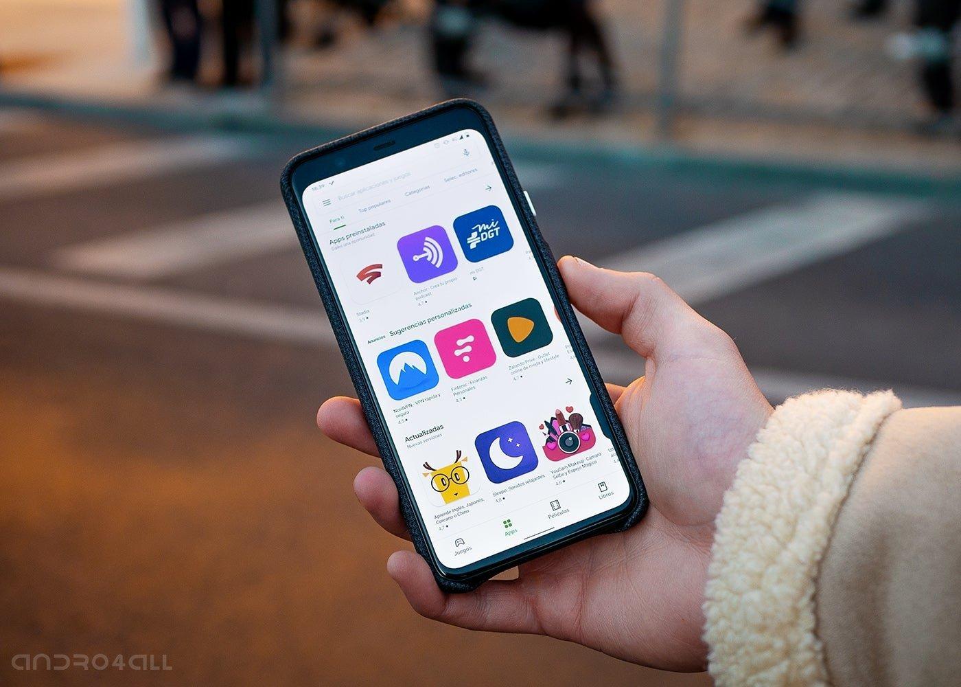 Google Play Store, applications et jeux