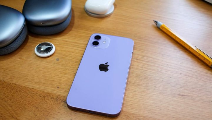 iPhone mini image violette