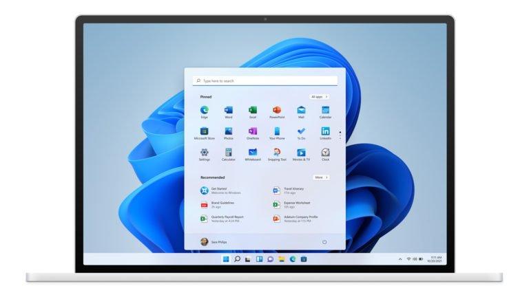 Windows 11 a un tout nouveau design.  (Photo : Microsoft)