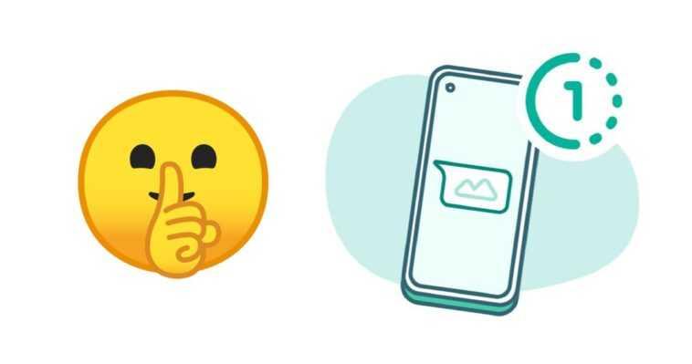 WhatsApp a un easter egg la mer de subtilité : ne dites rien