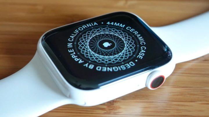 Image Apple Watch Series 5 en céramique