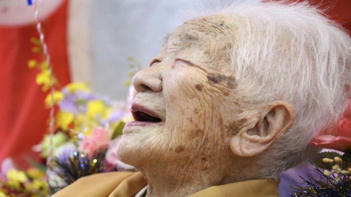 Kane Tanaka, la personne la plus âgée du monde, 118 ans