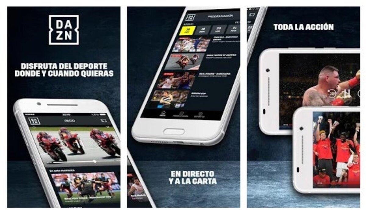 Application DAZN pour Android