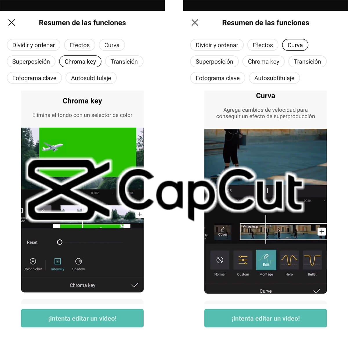 CapCut l'éditeur vidéo pour TikTok