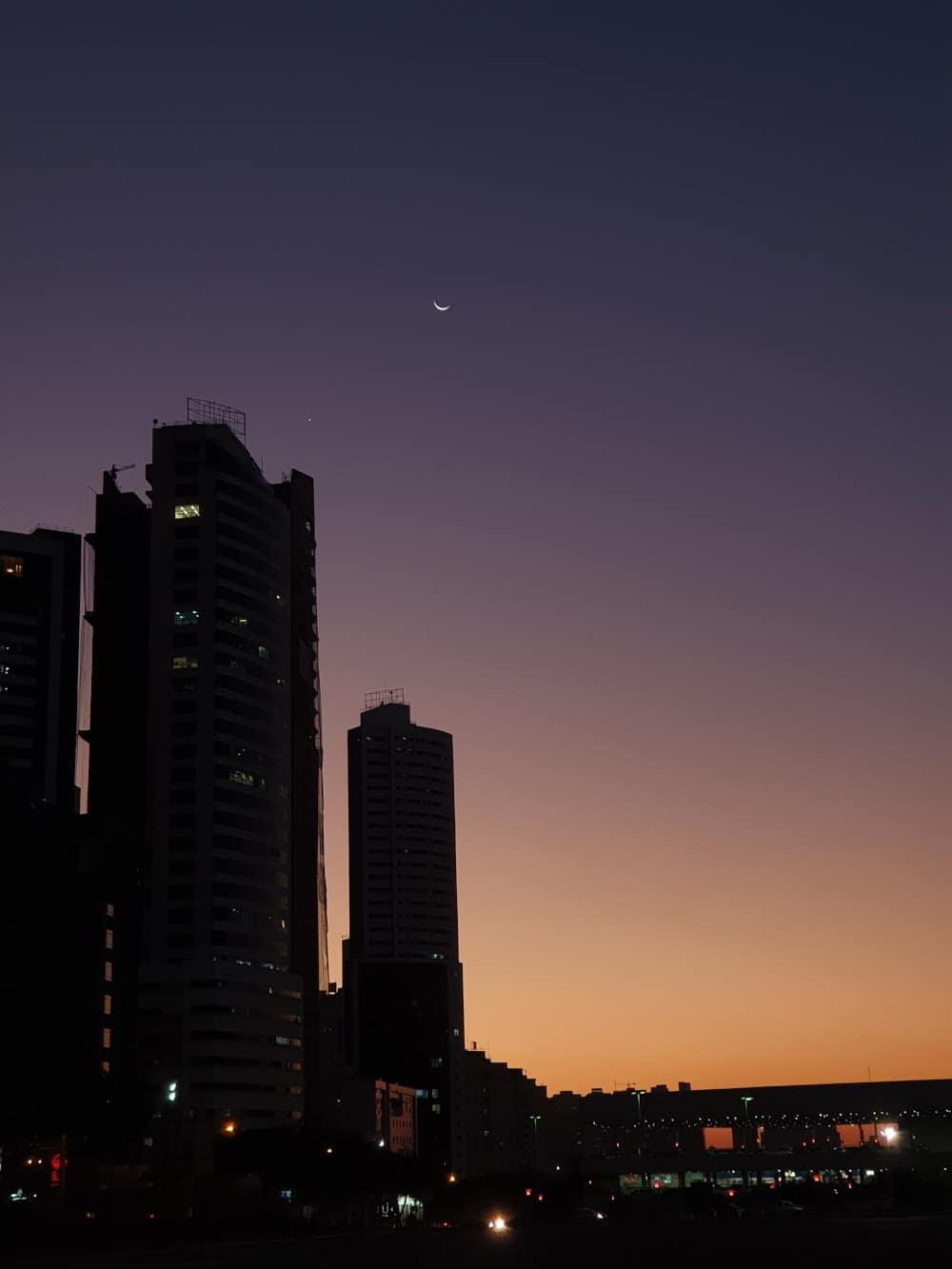 1626187866 687 Les internautes enregistrent le spectacle de la conjonction entre Venus