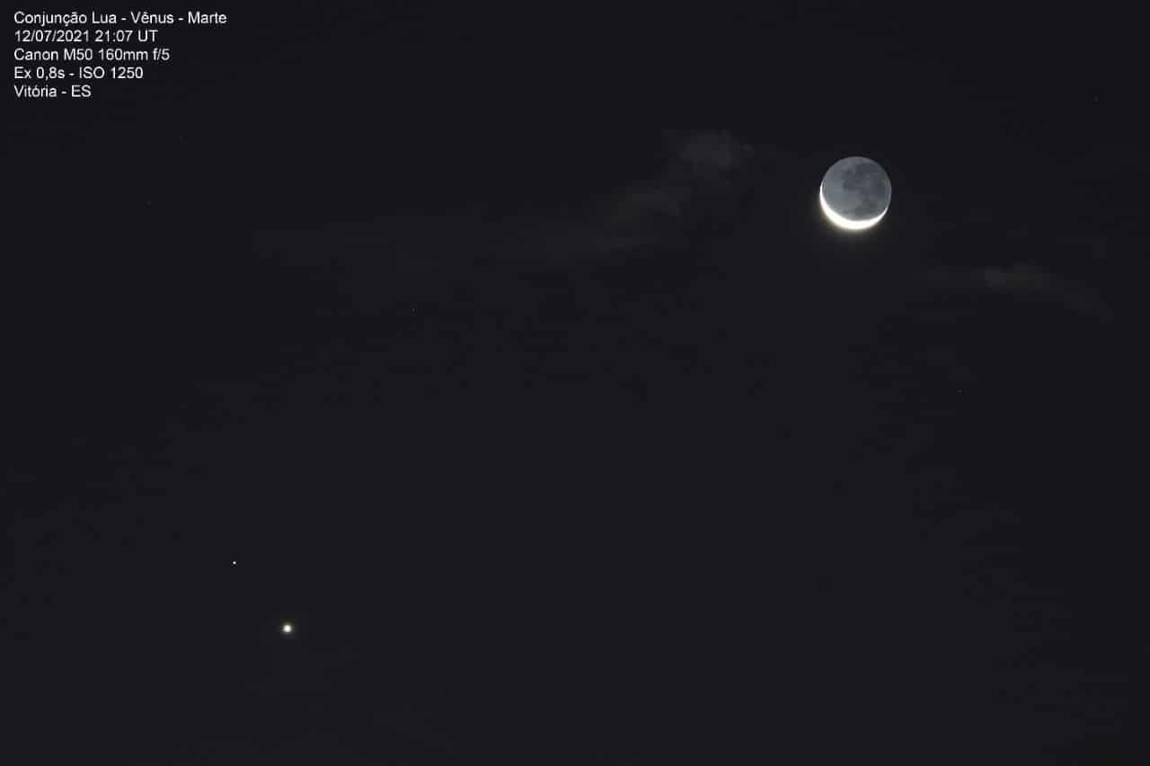 1626187867 335 Les internautes enregistrent le spectacle de la conjonction entre Venus