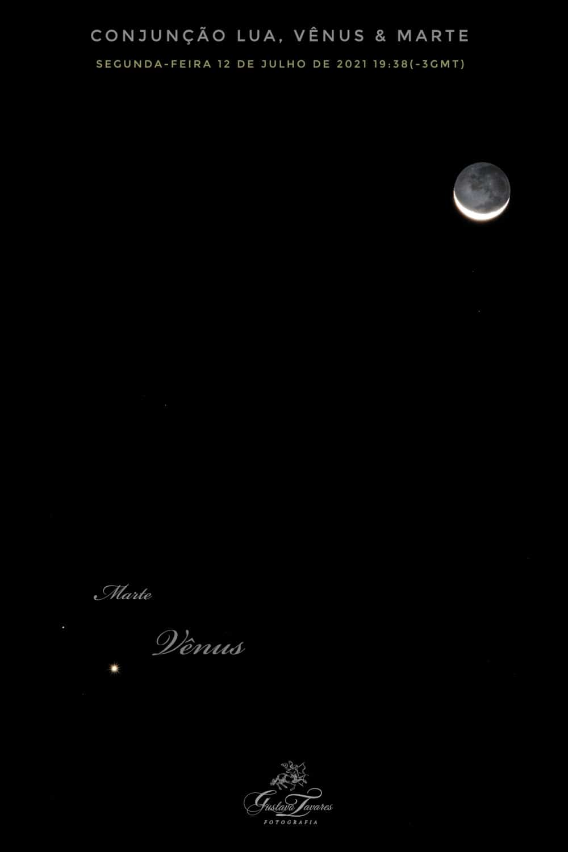 1626187867 76 Les internautes enregistrent le spectacle de la conjonction entre Venus