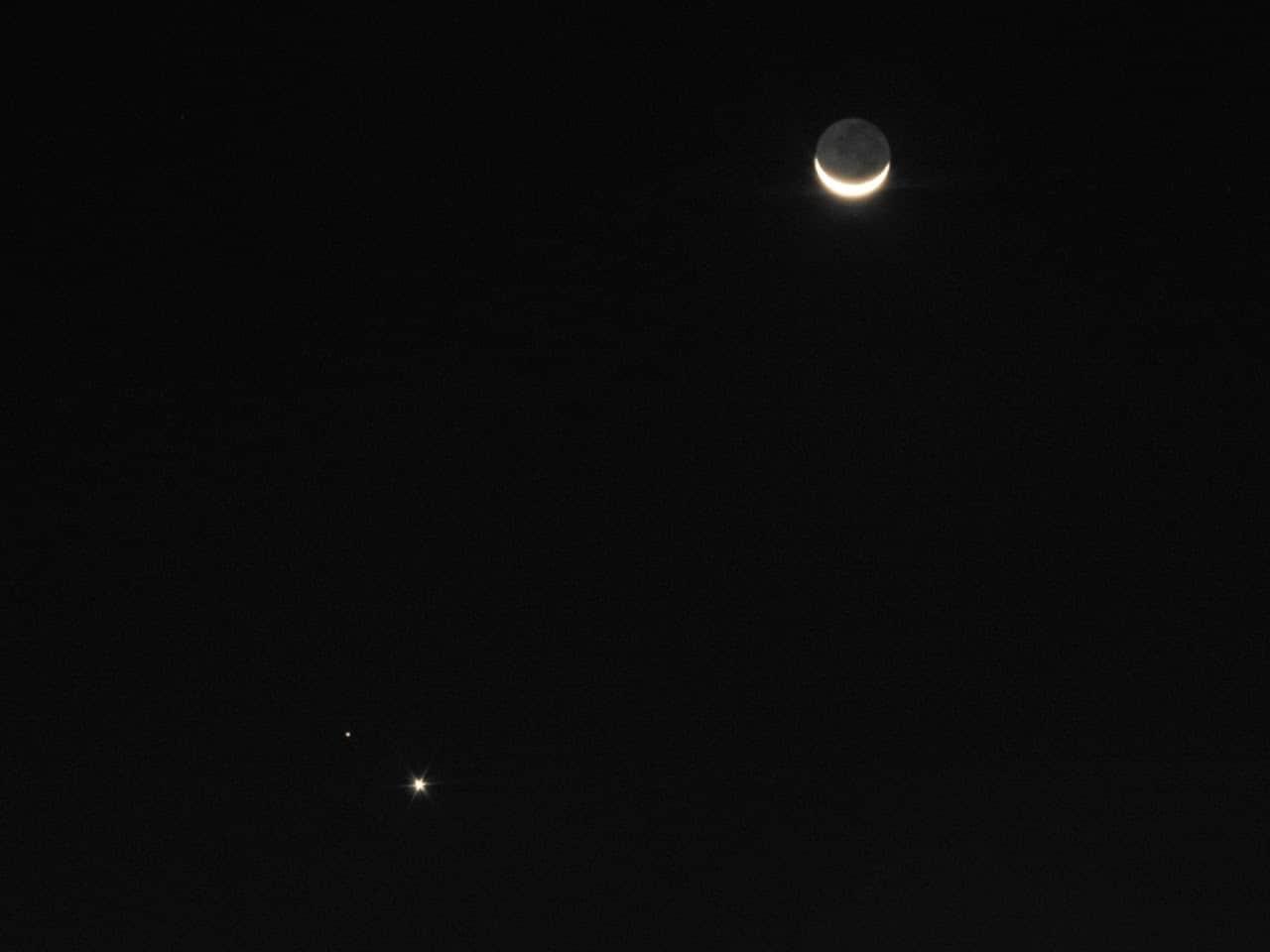 1626187868 147 Les internautes enregistrent le spectacle de la conjonction entre Venus