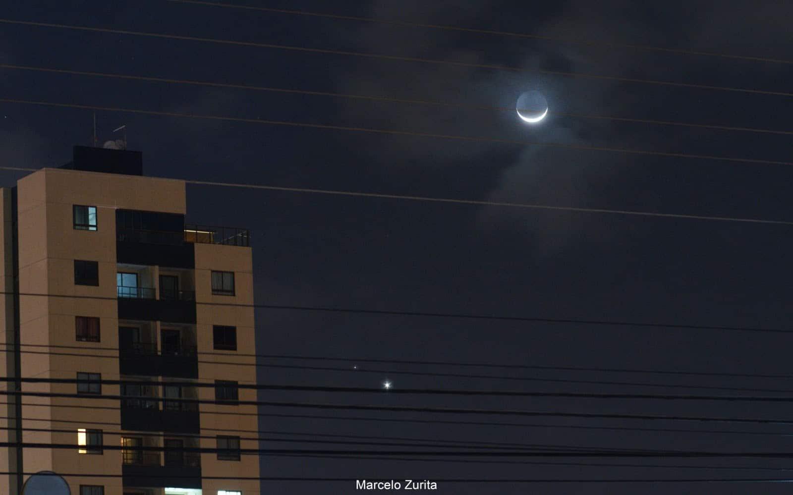 1626187868 91 Les internautes enregistrent le spectacle de la conjonction entre Venus