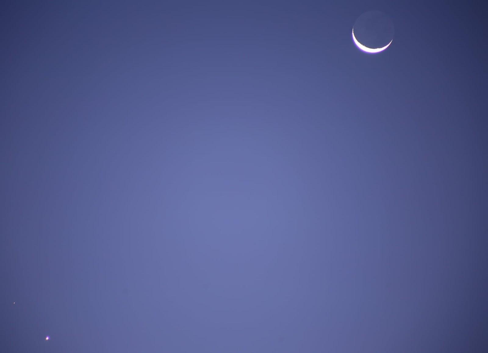 1626187869 712 Les internautes enregistrent le spectacle de la conjonction entre Venus