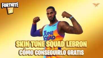 Fortnite : Comment Obtenir Gratuitement Le Skin Tune Squad Lebron