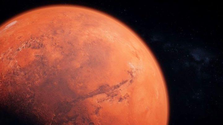 L'image de Mars de la NASA à travers les yeux