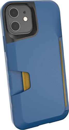 Étui Portefeuille Smartish pour iPhone 12/12 Pro - Wallet Slayer Vol.  1 [Slim + Protective] Titulaire de la carte de crédit (soie) - Blues on The Green