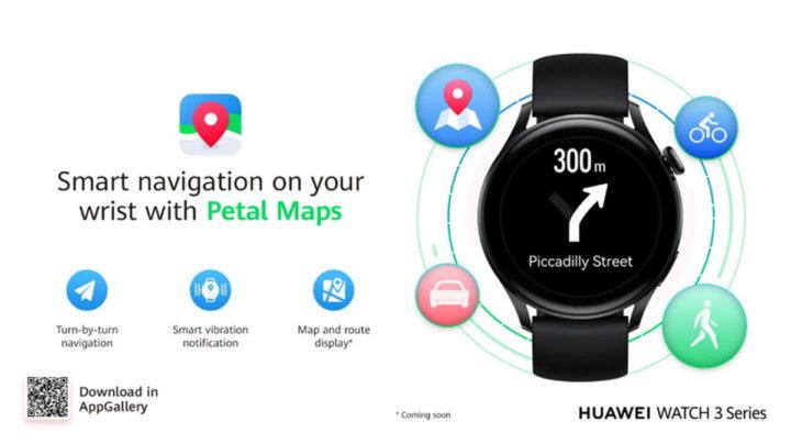 1626306125 193 Petal Maps est arrive sur Huawei Watch 3 et recoit