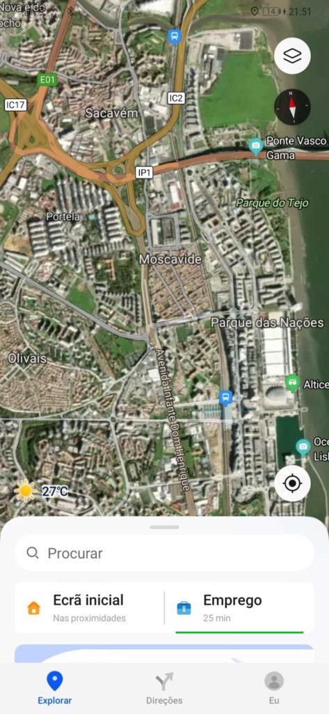 Petal Maps Cartes d'actualités Huawei