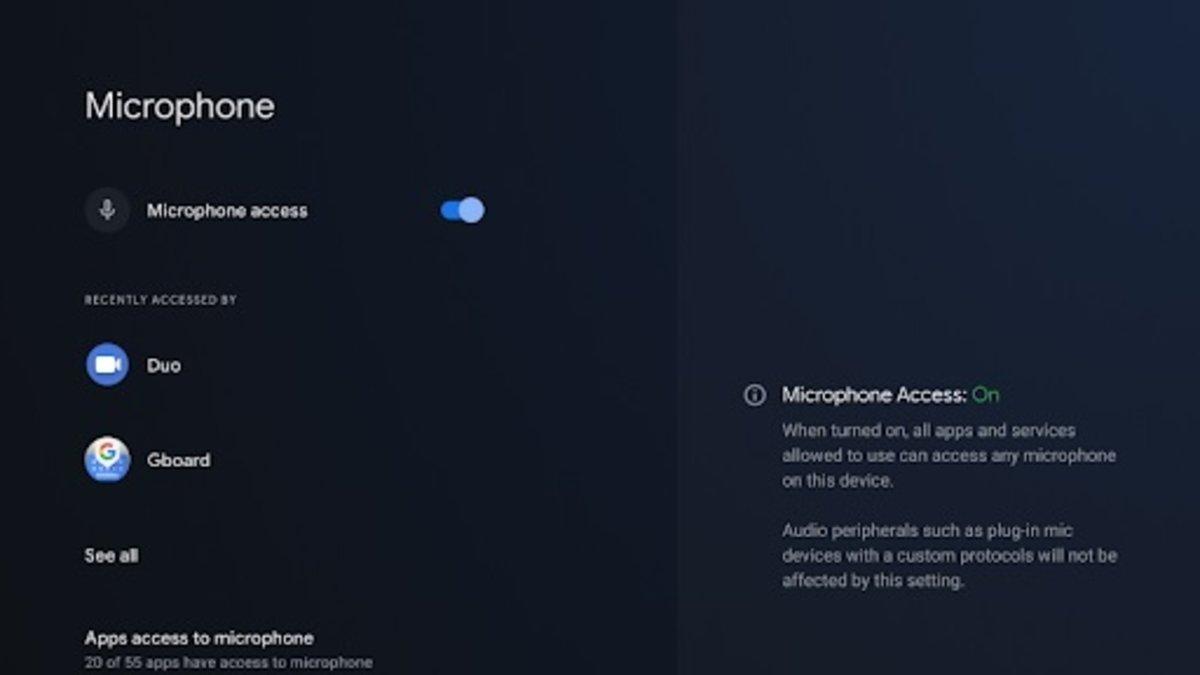Android 12 bêta 3 pour la télévision