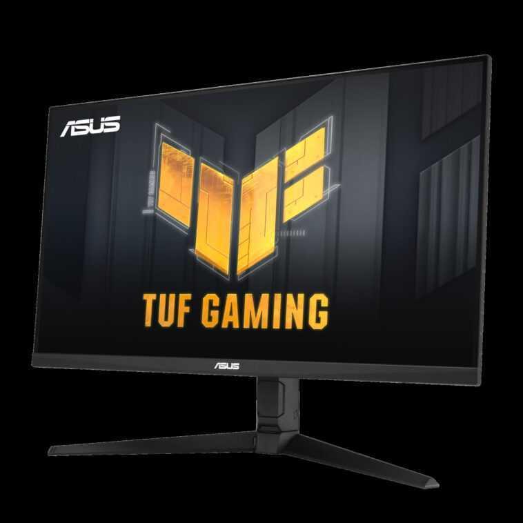 Le Moniteur Tuf Gaming Vg32aql1a De 32 Pouces D'asus Combine
