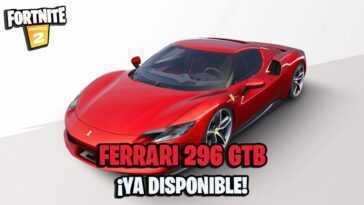 La Ferrari 296 Gtb Arrive Sur Fortnite ; Tous Les