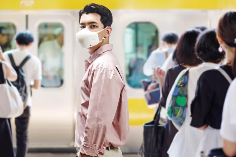 1626967506 840 Le masque purificateur dair de LG mis a jour avec
