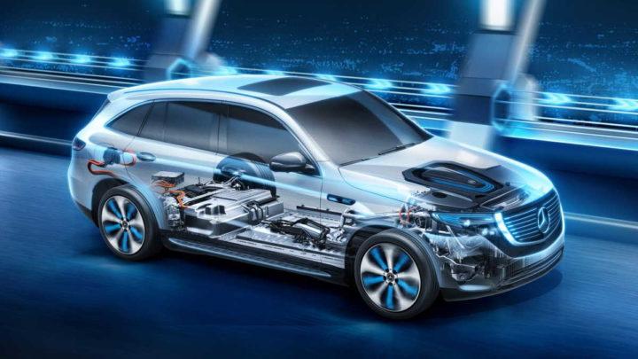 Plan Mercedes voitures électriques 2030