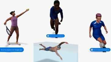 Google Ajoute Des Athlètes Olympiques à Sa Réalité Augmentée :