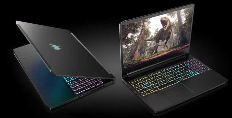 Acer is increasing the TGP of the RTX 30 series GPUs in its latest gaming laptops