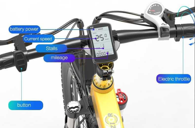 Bezior X500 Pro Compteur