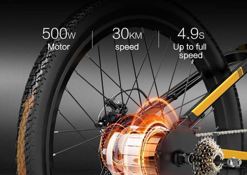 Bezior X500 Pro Moteur Speed