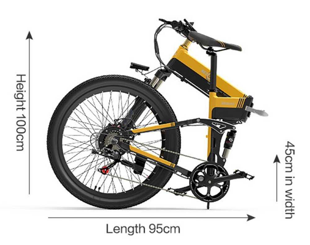 Bezior X500 Pro Plie Taille Dimension