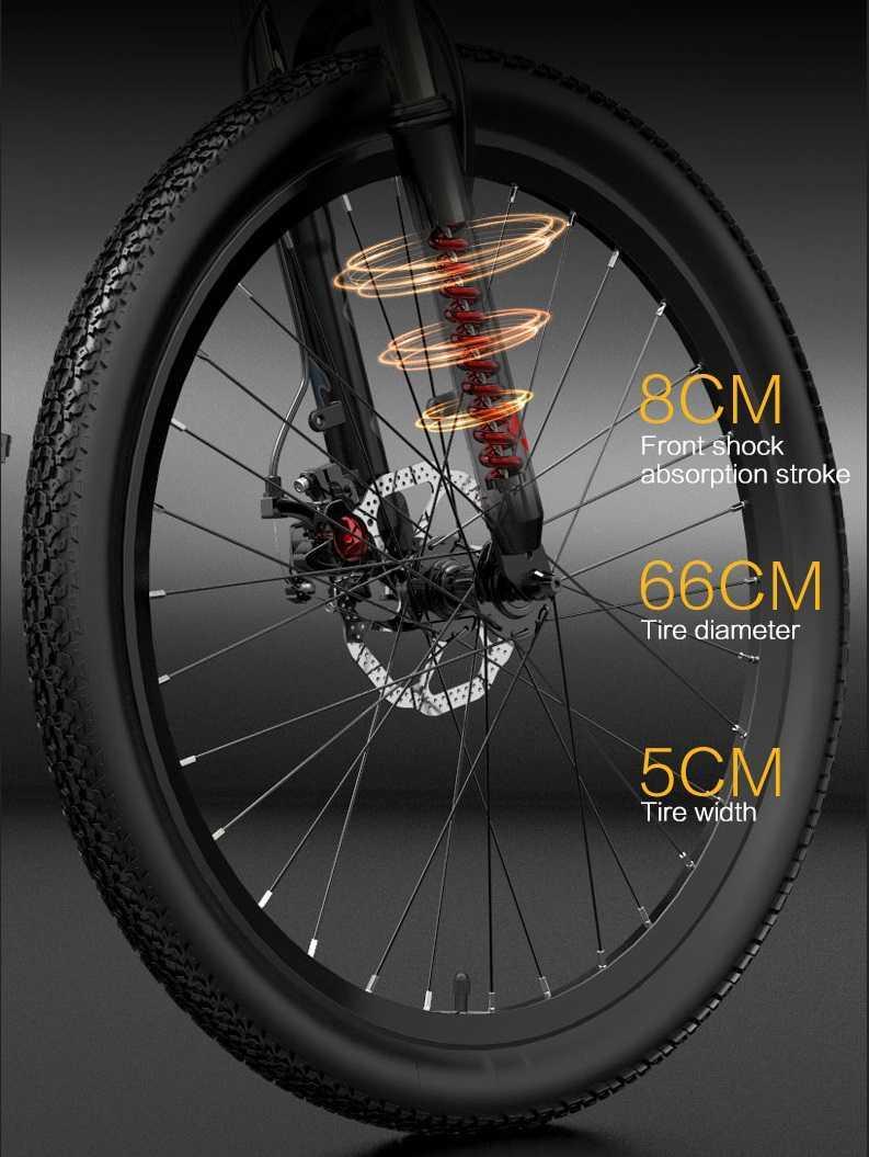 Bezior X500 Pro Roue Taille Dimension