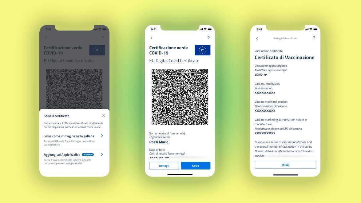 Comment Ajouter Le Green Pass Au Portefeuille Iphone Et Android
