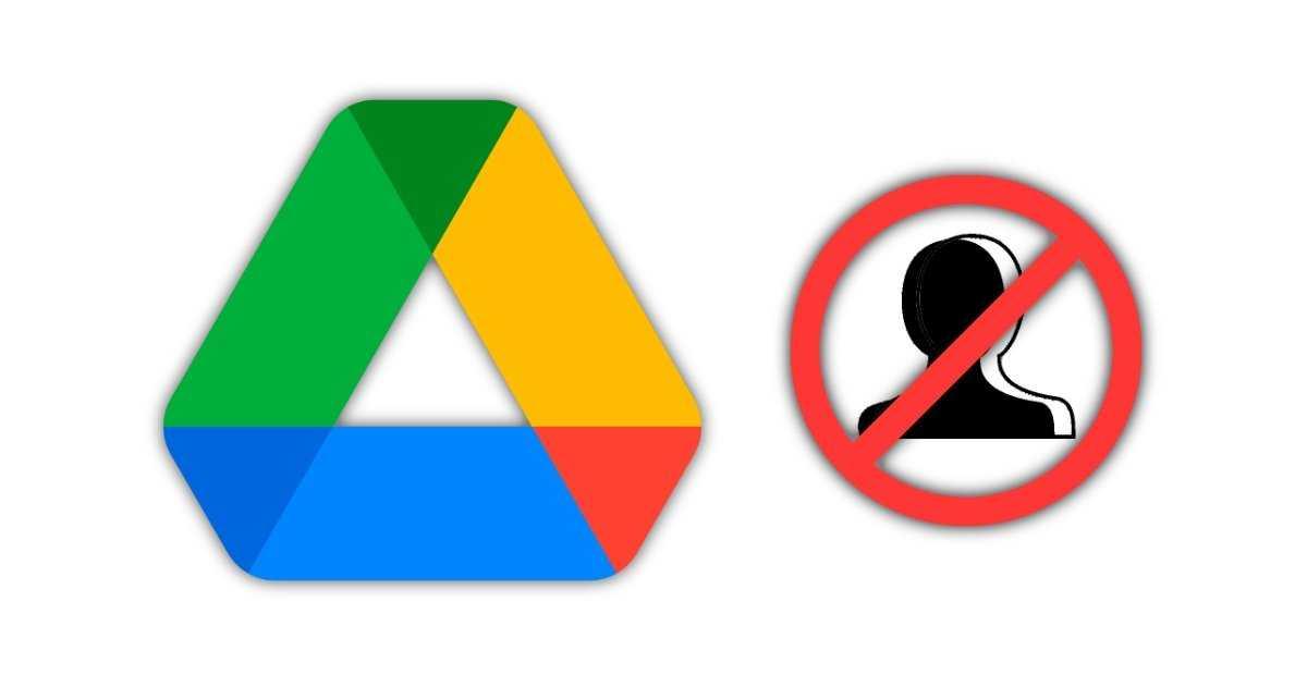 Bloquer les utilisateurs de Google Drive