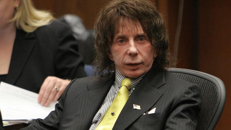 Phil Spector lors de son procès