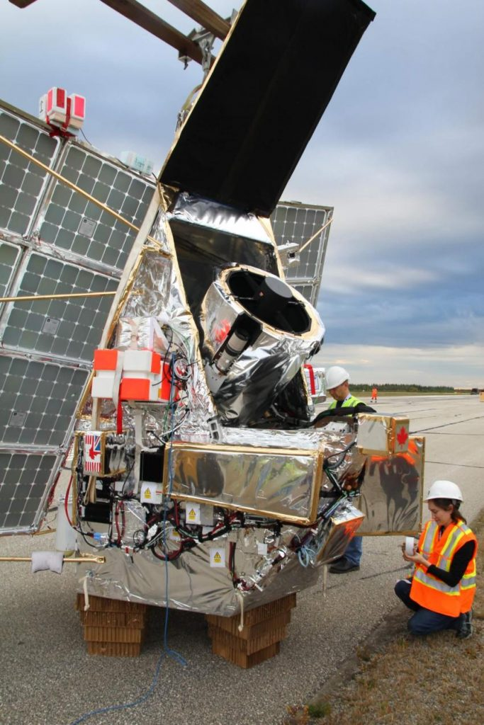 L'image montre les préparatifs du dernier vol d'essai de SuperBIT, le télescope spatial qui entrera en service en 2022, étant plus économique et respectueux de l'environnement
