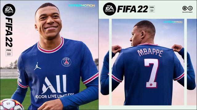 FIFA 22 Kylian Mbappé a confirmé la couverture officielle