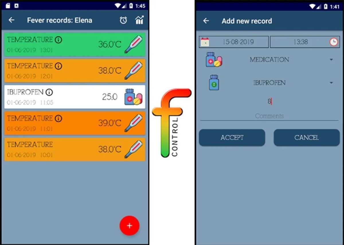 Fever Control App