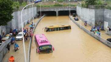 Inondations Catastrophiques En Chine Et En Europe : D'ici 2100