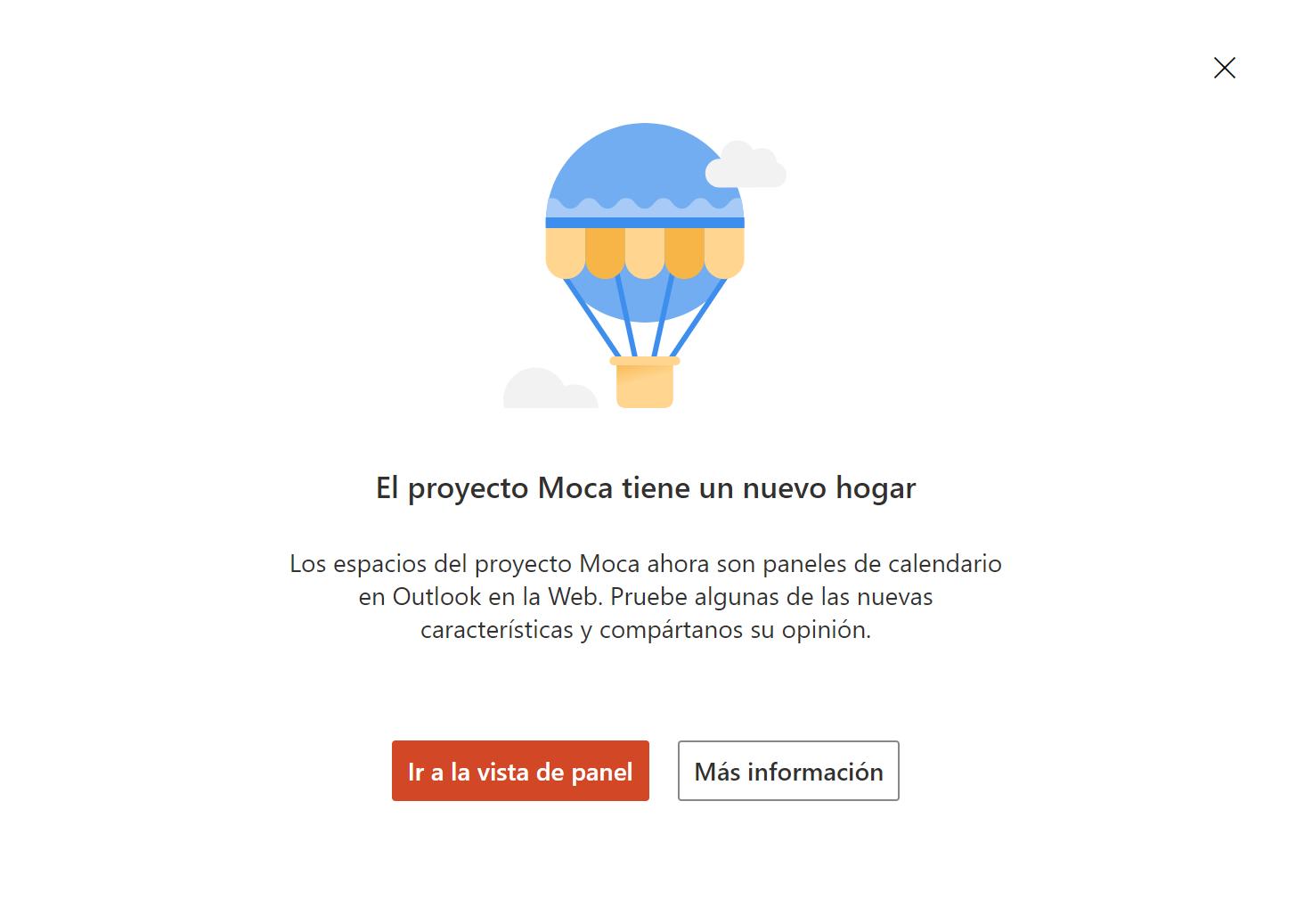 Project Moca est déplacé vers le calendrier Outlook