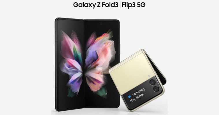 Les Galaxy Z Flip3 Et Fold3 Seront Résistants à L'eau,