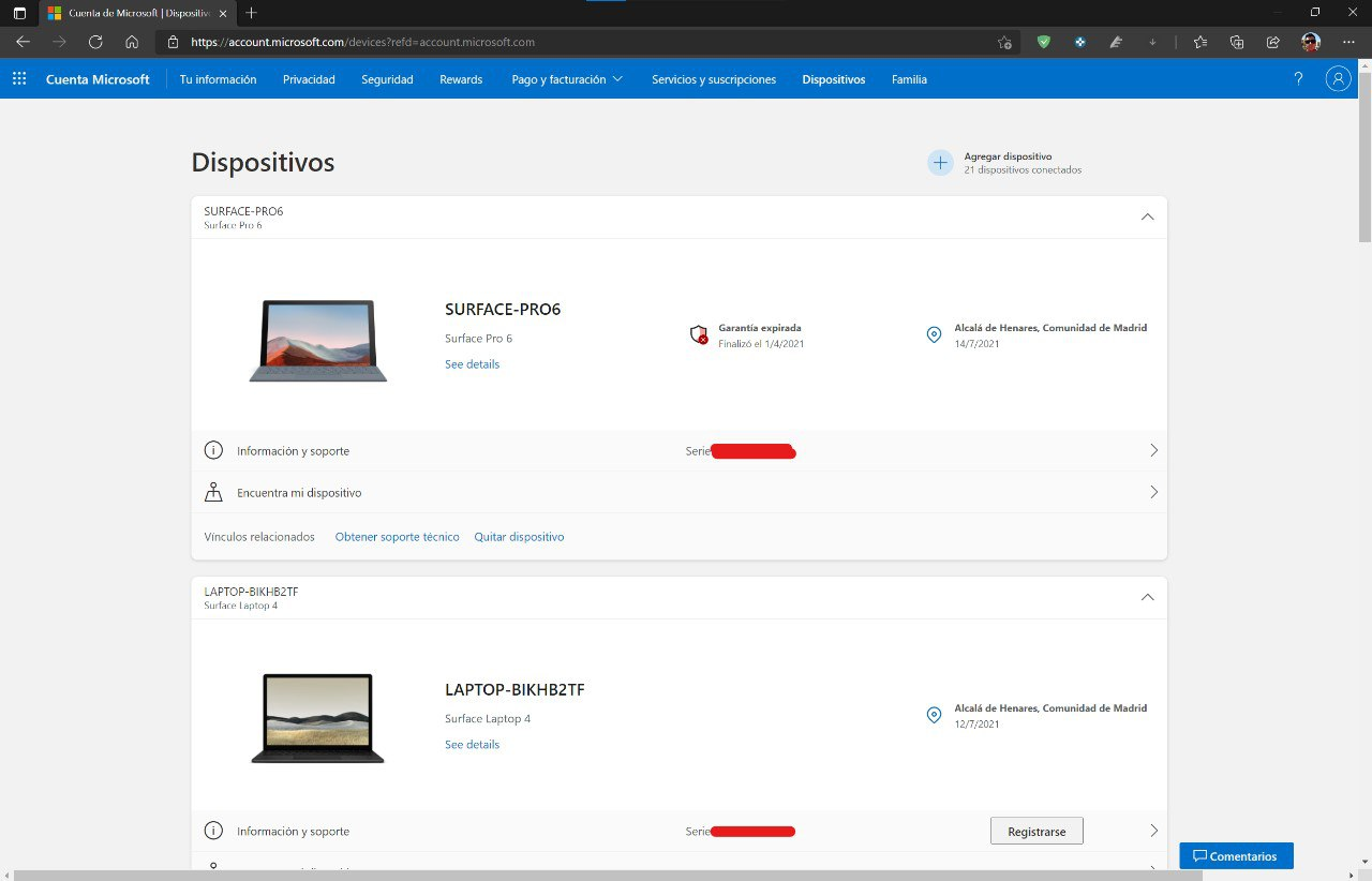 Microsoft pages also adapt to Windows 11