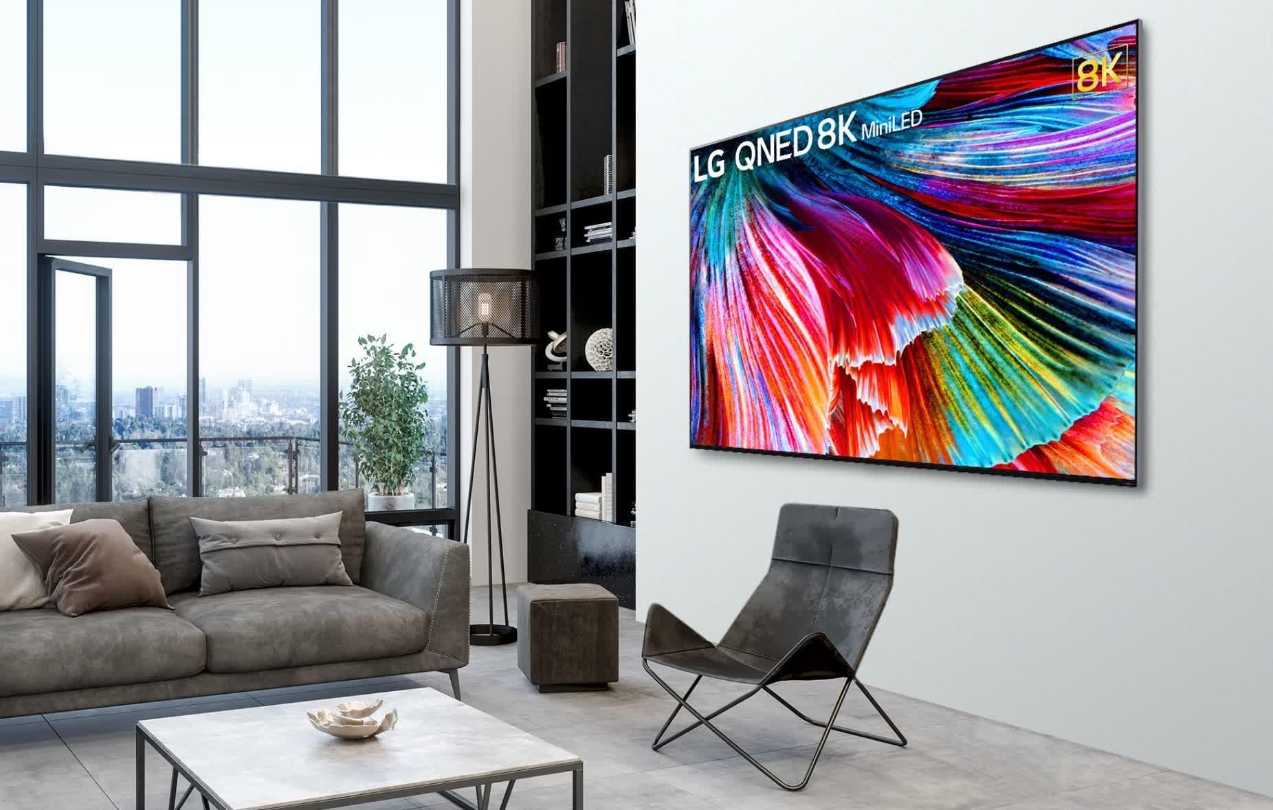 Les premiers televiseurs Mini LED de LG arrivent ce mois ci
