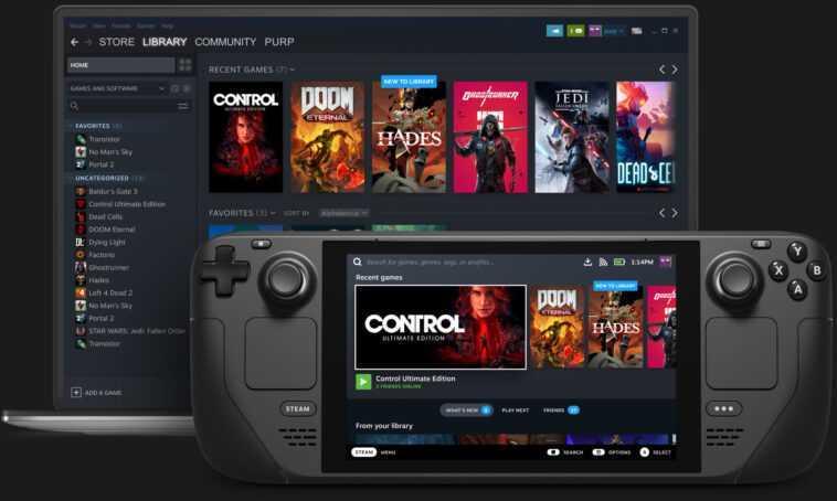 L'interface Utilisateur Steam Deck De Valve Remplace Le Mode Big