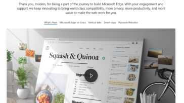 Microsoft Edge 92 Est Maintenant Disponible. Découvrez Toutes Les Nouveautés