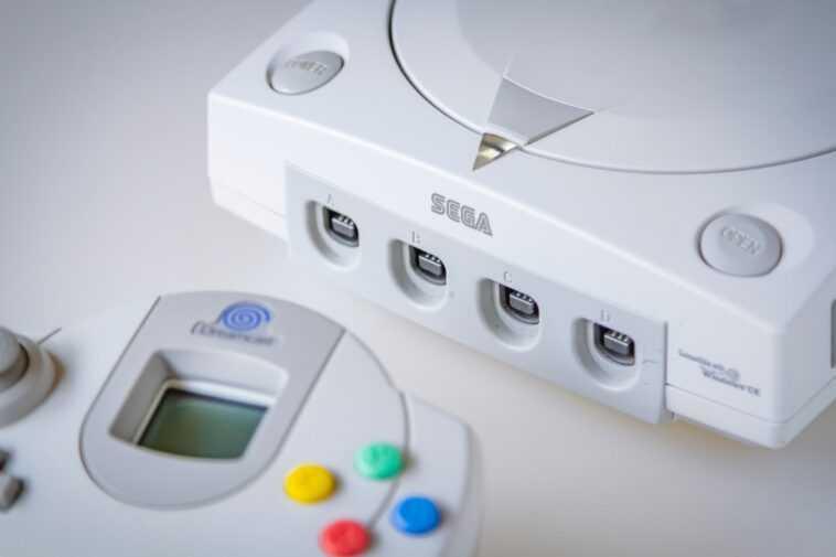 Modded Sega Dreamcast Est En Fait Un Pc De Jeu