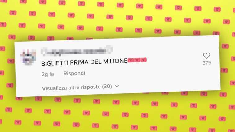 Que Signifie «tickets Avant Un Million» Sur Tiktok
