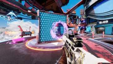 Splitgate, Le Tireur De 'portal Rencontre Halo' Retardé Parce Que