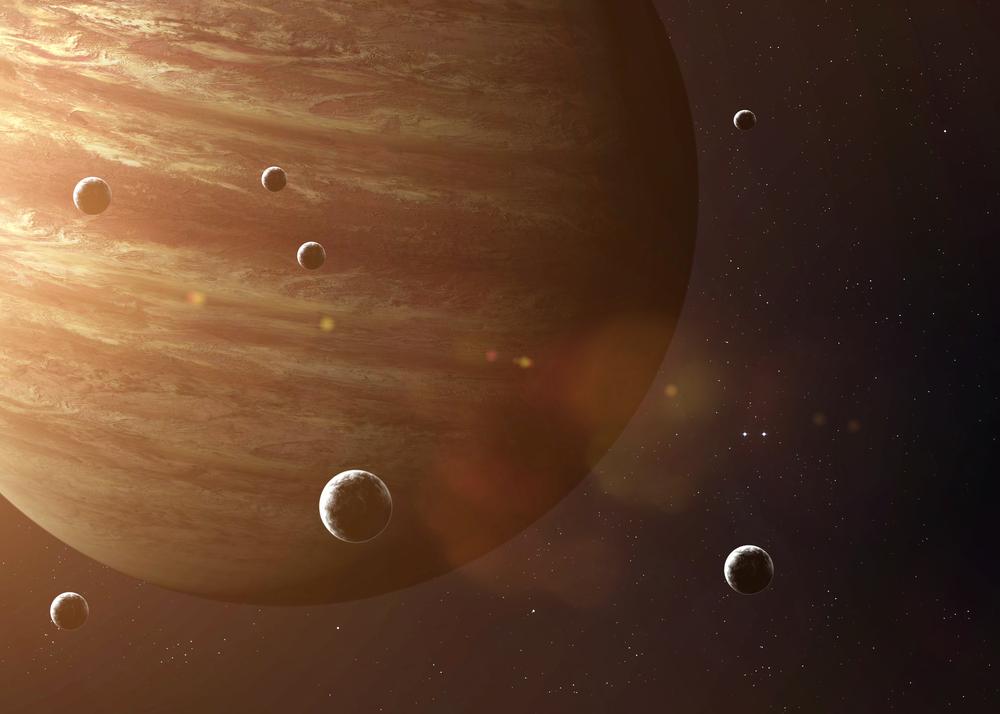 Un astronome amateur decouvre une petite lune autour de Jupiter