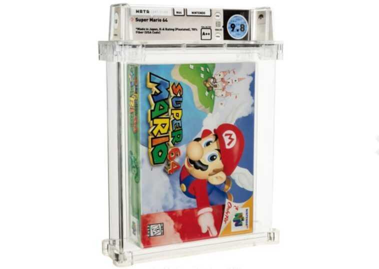 Une Copie De Super Mario 64 Vendue Pour 1,56 Million