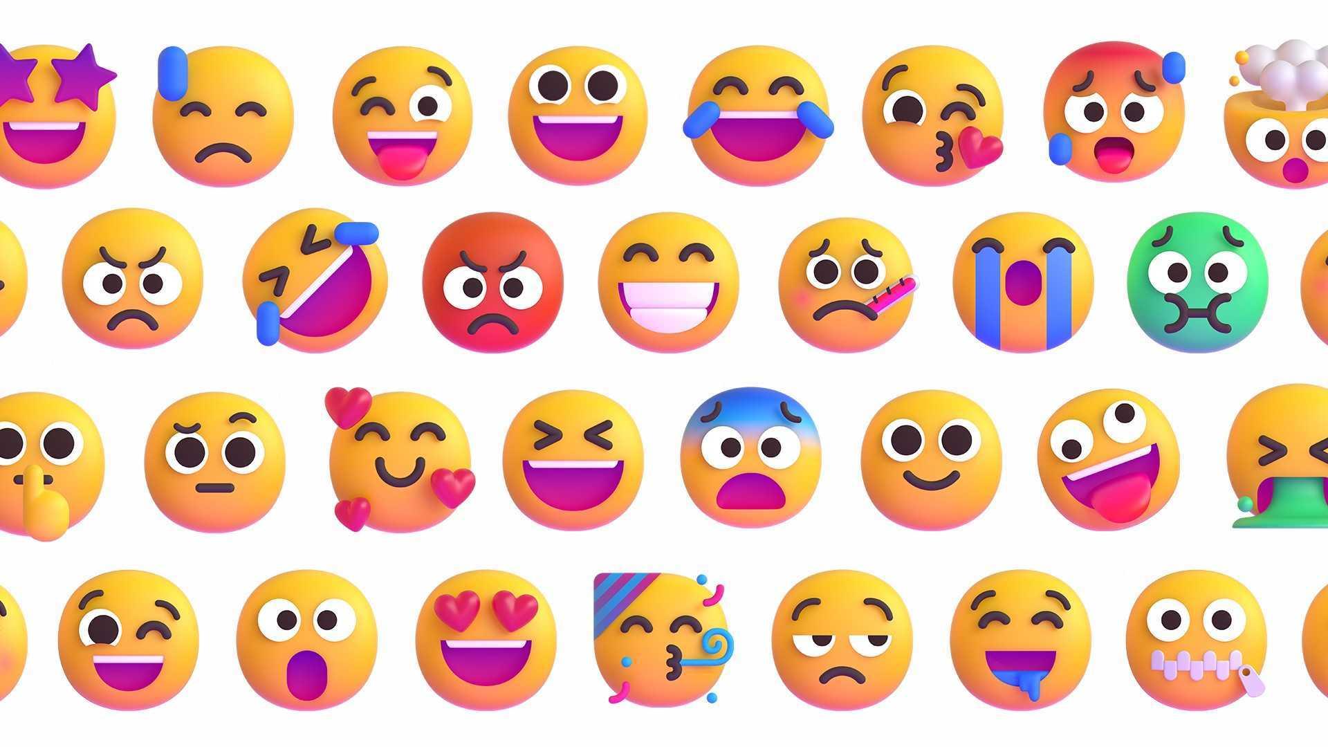 Les nouveaux emojis de Microsoft
